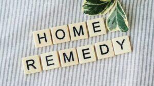 remède maison en anglais avec des lettres de scrable