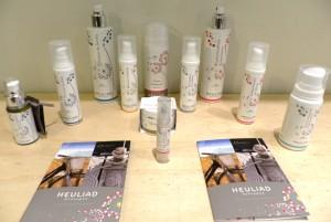 la gamme de cosmétique bio Heuliade
